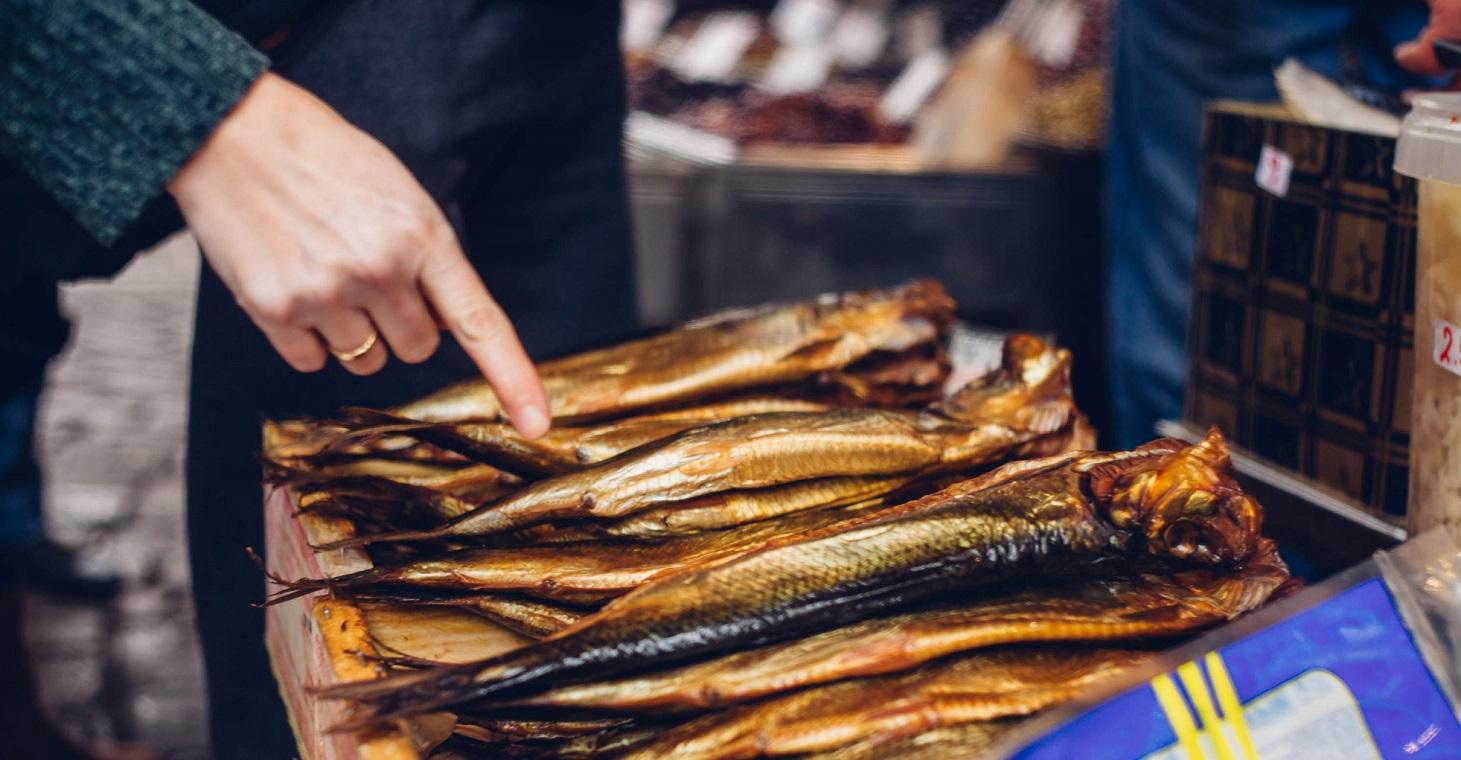 Athens market fish