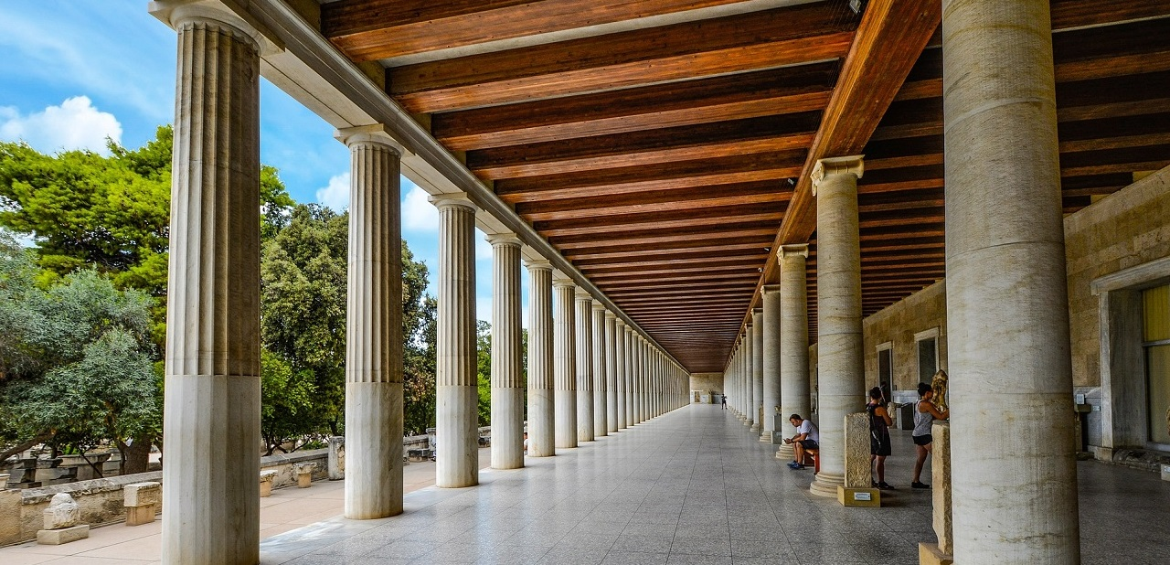Stoa of Attalos Athens sightseeing